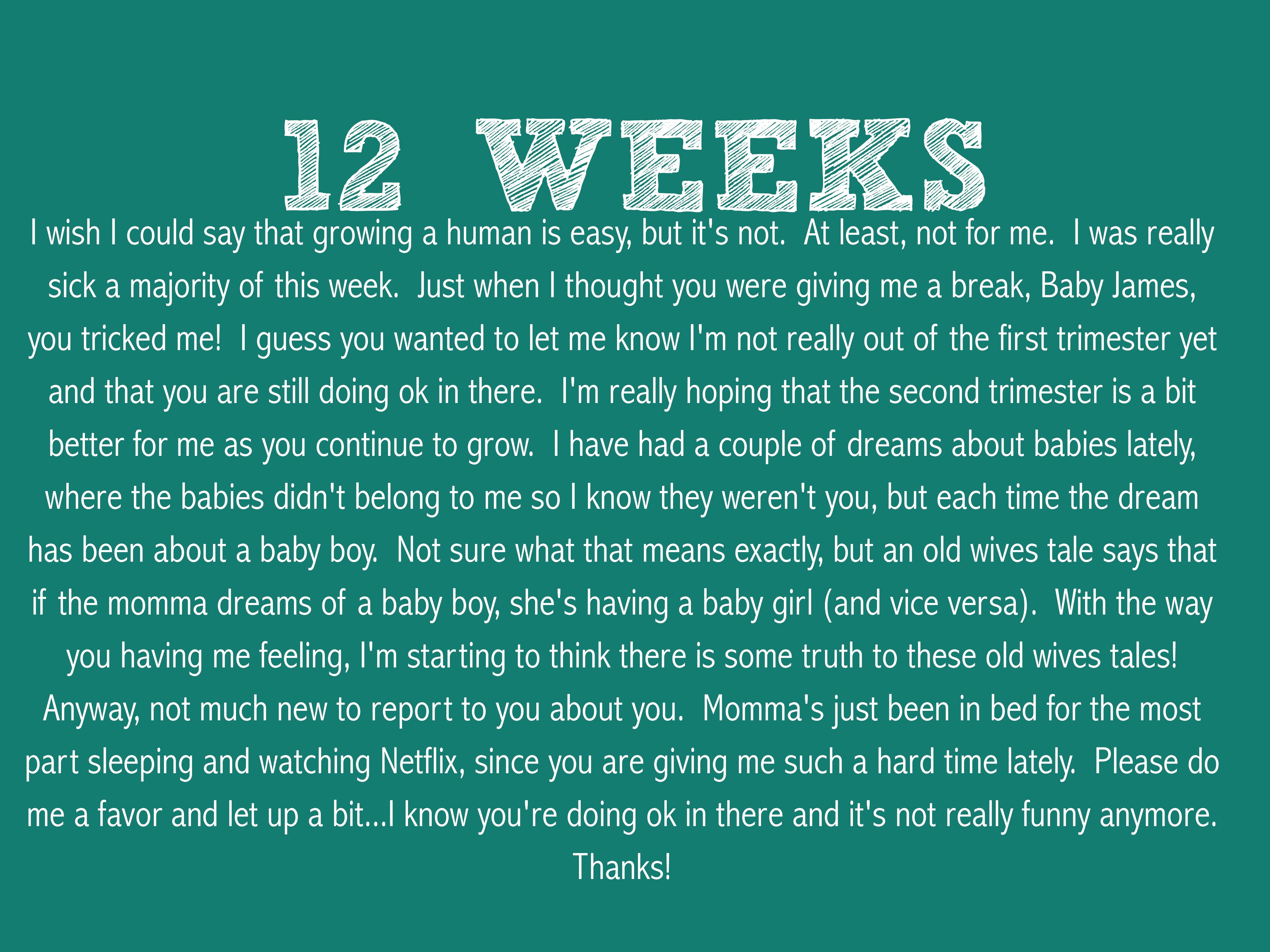 pregnancy symptoms the baby james evolution page 2